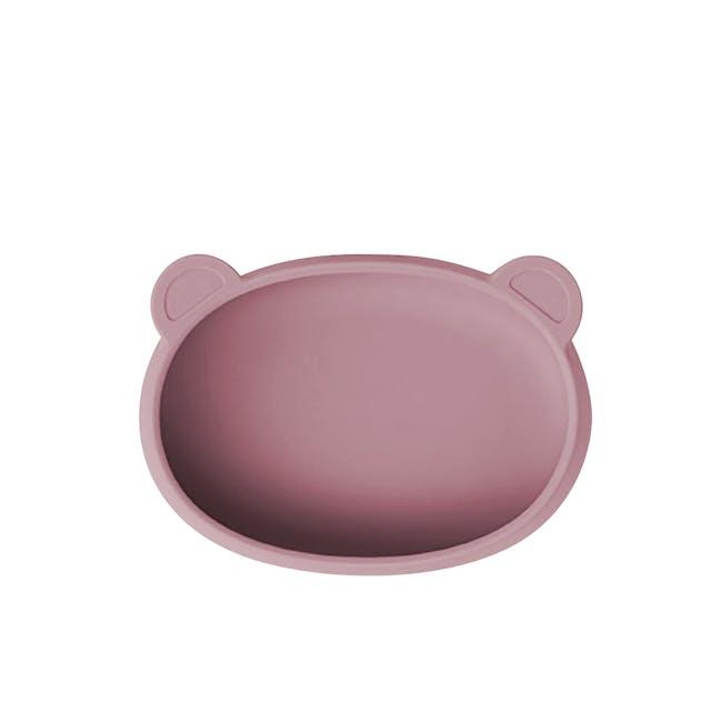 MODU'I Bear Snack Bowl 320ml - Pink - 0
