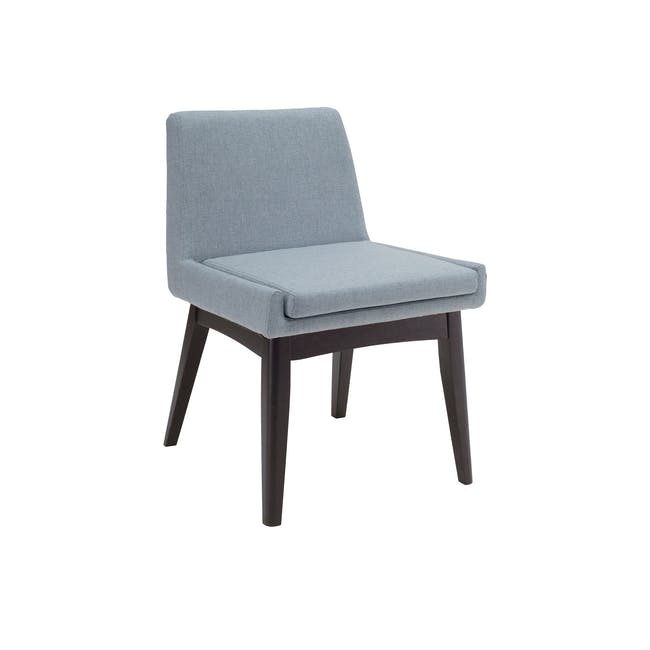 Fabian Dining Chair - Black, Aquamarine - 0
