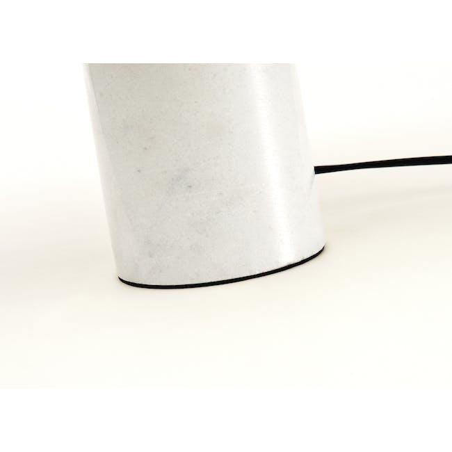 Flos Snoppy Marble Table Lamp - Black - 3
