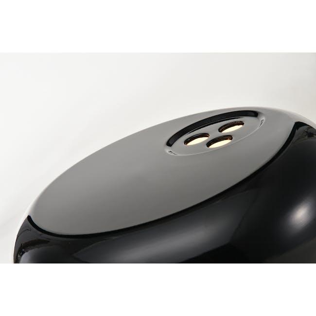 Flos Snoppy Marble Table Lamp - Black - 2