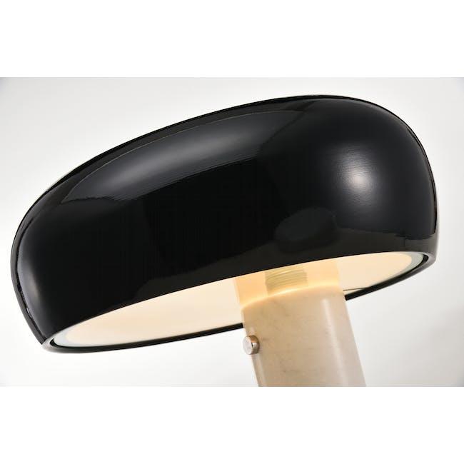 Flos Snoppy Marble Table Lamp - Black - 1