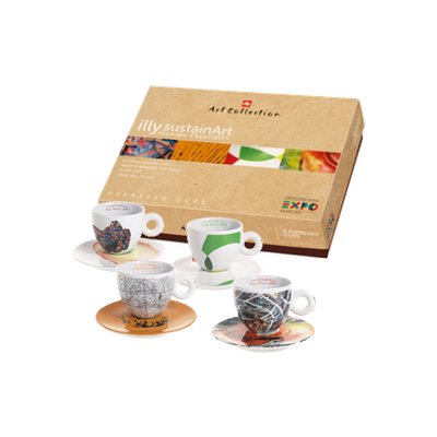 illy Art Collection - SustainArt Cups (Set of 4) - Image 1