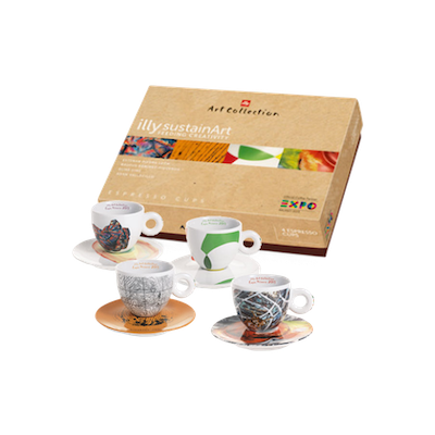 illy Art Collection - SustainArt Cups (Set of 4)