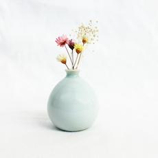 Mini Vase - Full Glaze (Light Turquoise)