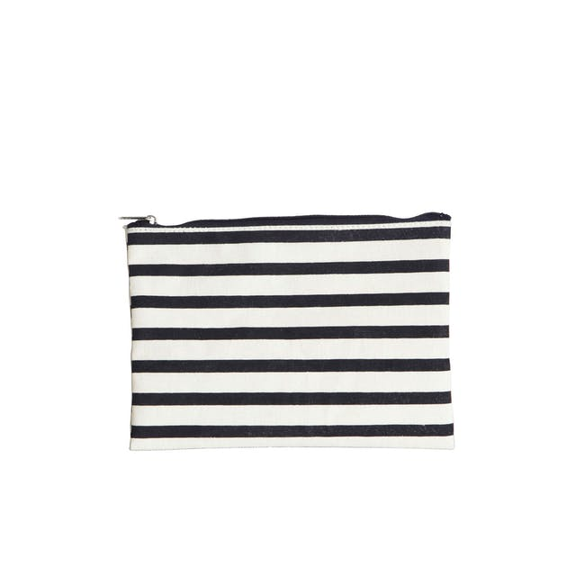 Stripes Makeup Bag - 0