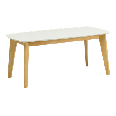 Kyra High Coffee Table - White - Image 1