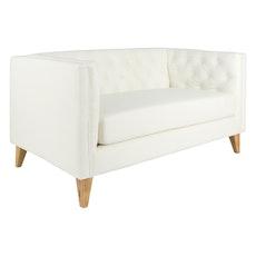 Paris 2 Seater Sofa - Faux Leather