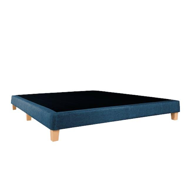 ESSENTIALS Queen Divan Bed - Denim (Fabric) - 2