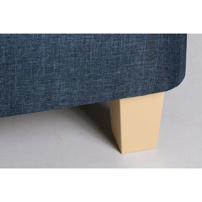 ESSENTIALS Single Divan Bed - Denim (Fabric) - 4