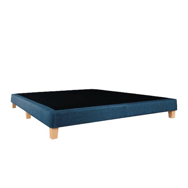 ESSENTIALS Super Single Divan Bed - Denim (Fabric) - 2