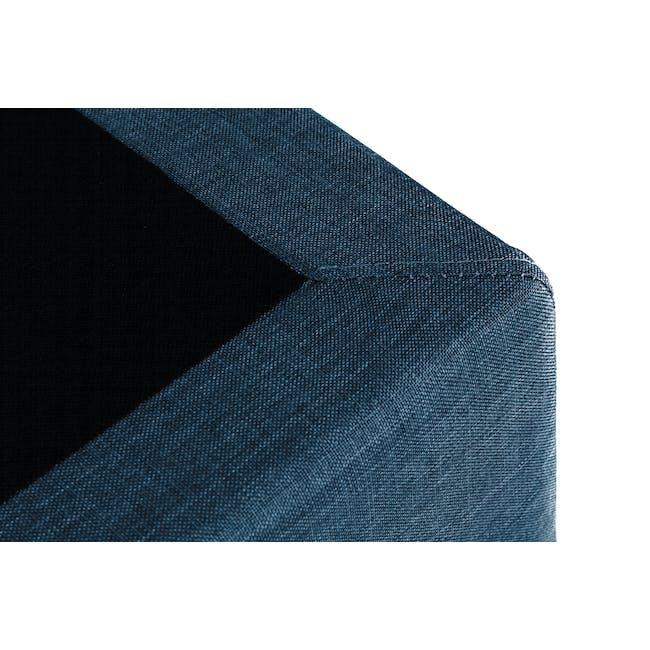 ESSENTIALS Super Single Divan Bed - Denim (Fabric) - 3