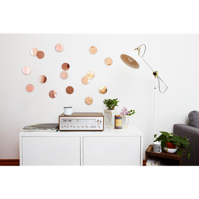 Confetti Dots Wall Decal (Set of 16) - Copper - Image 2