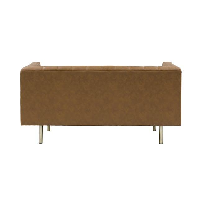 Cadencia 2 Seater Sofa with Cadencia Armchair - Tan - 14