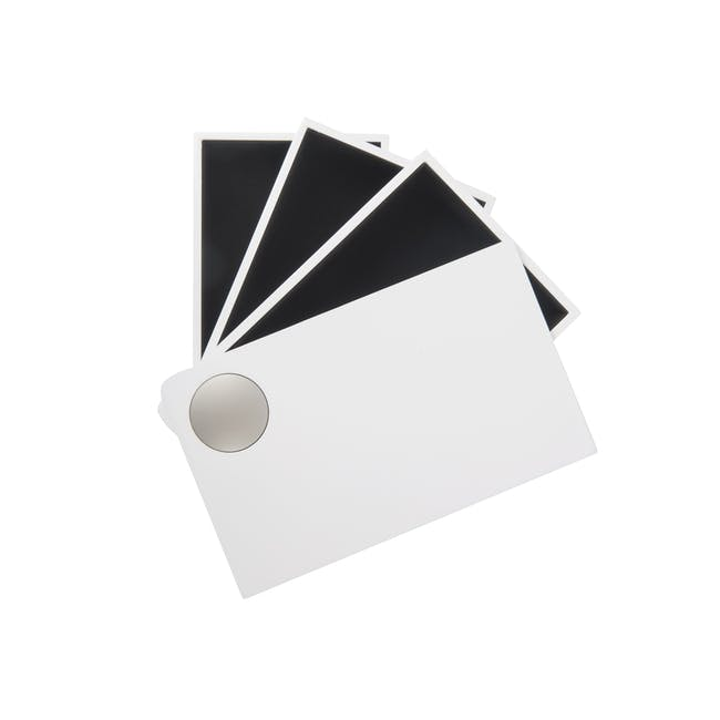 Spindle Storage Box - White - 5