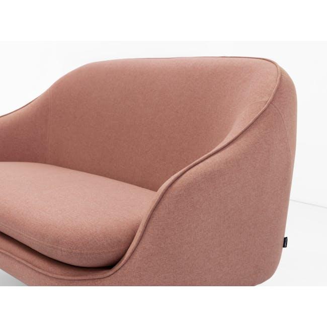 Quinn 2 Seater Sofa with Quinn Armchair - Burnt Umber - 3