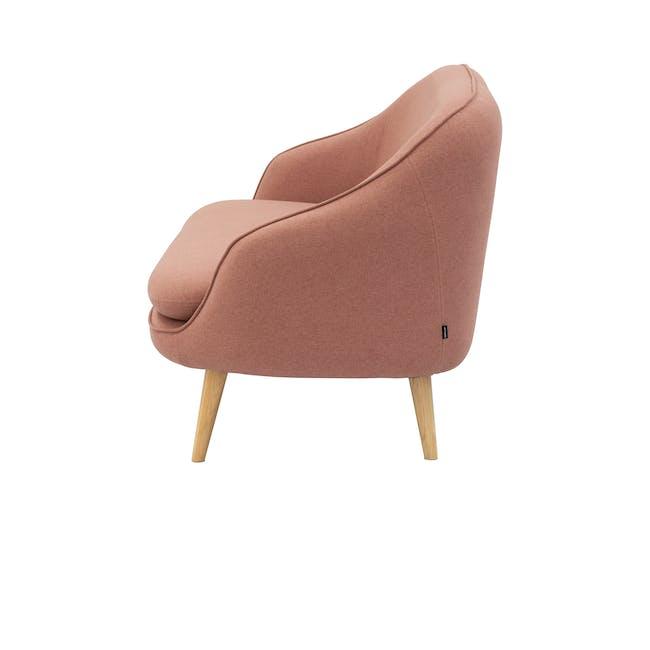 Quinn 2 Seater Sofa with Quinn Armchair - Burnt Umber - 6