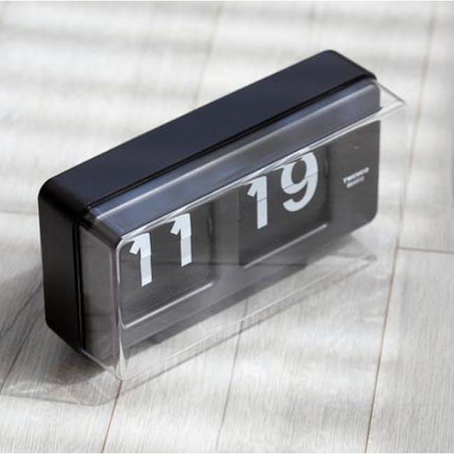 TWEMCO Big Wall/Table Clock - Black - 1