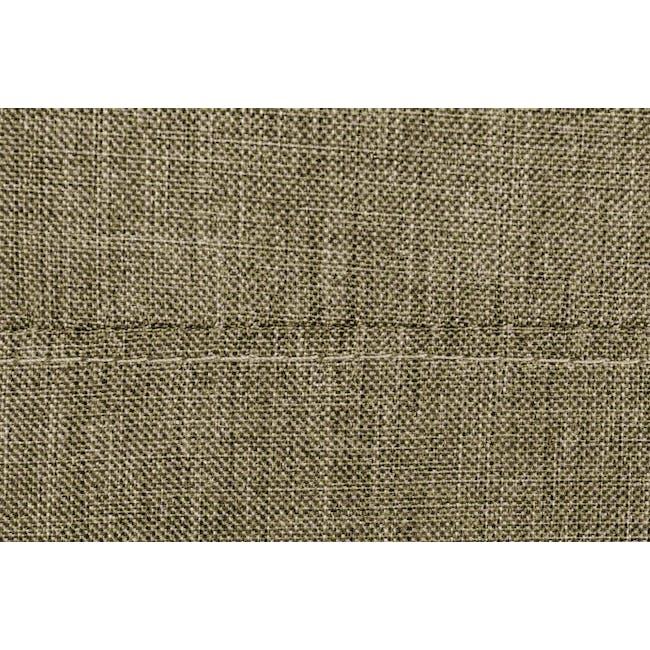ESSENTIALS Single Divan Bed - Khaki (Fabric) - 5