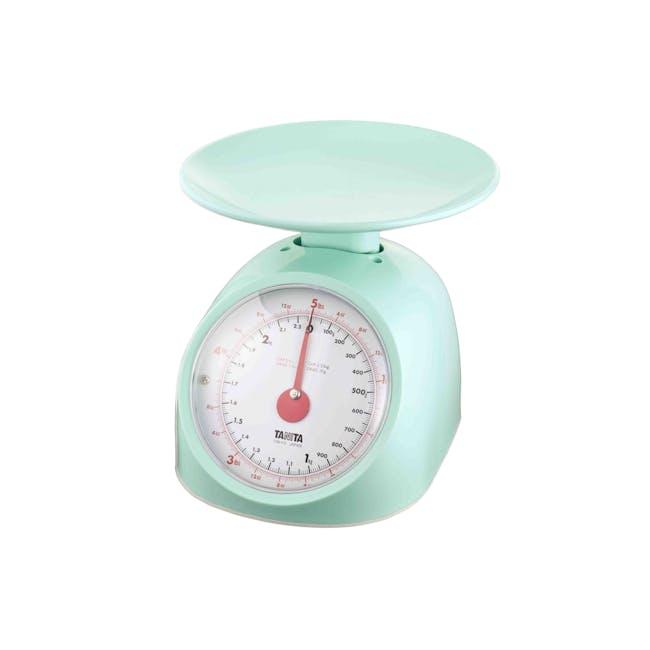Tanita Mechanical Kitchen Scale 1kg - Green - 0