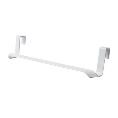 Towel Rack Holder over Drawer / Cupboard - White