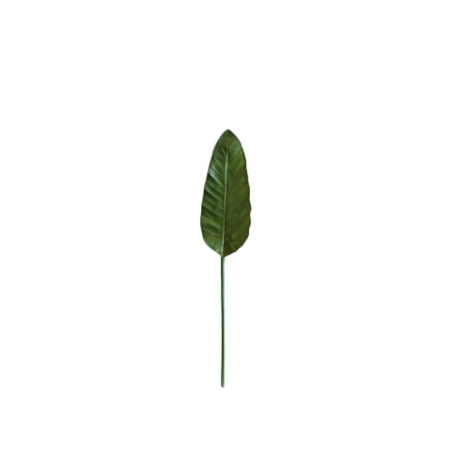 Faux Tropical Leaf - Assorted (Set of 5) - 4