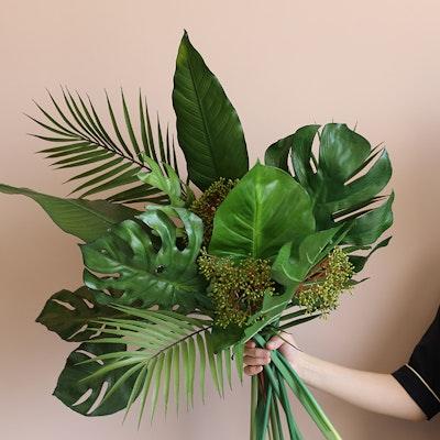 Faux Paradisiaca Leaf - Large - Image 2