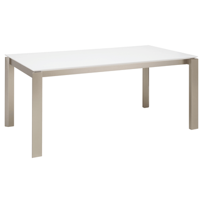(As-is) Elwood Dining Table 1.8m - White - 1 - Image 1