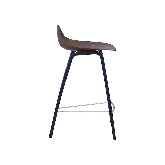 Stacy Counter Chair - Walnut - 3