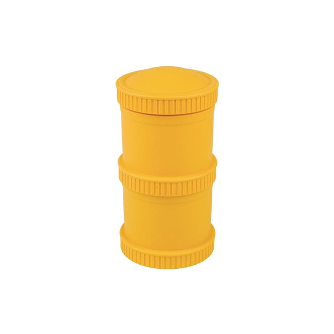 Re-Play Snack Stack Set - Sunny Yellow - 0