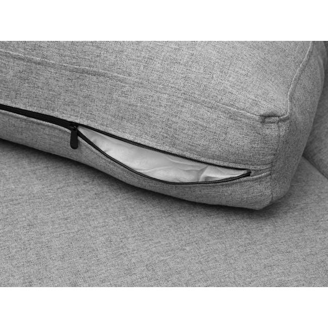Mia L-Shaped Storage Sofa Bed - Dove Grey - 10