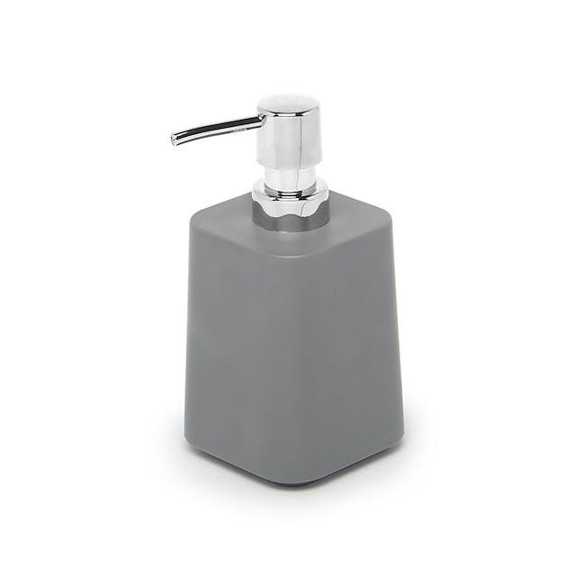 Scillae Soap Pump - Charcoal - 0