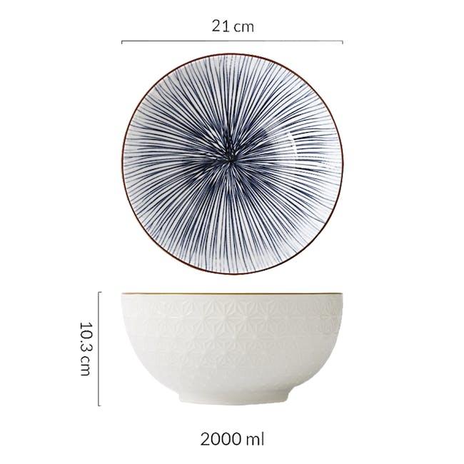 Table Matters Blue Illusion Bowl (3 Sizes) - 4