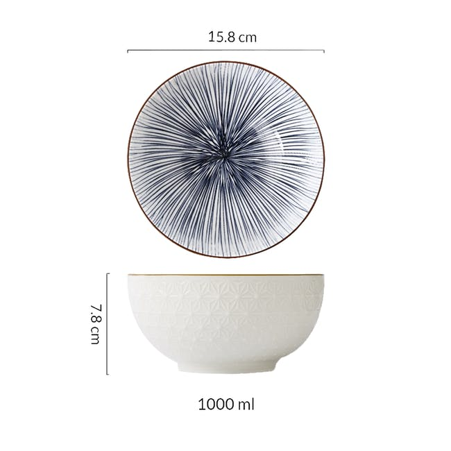 Table Matters Blue Illusion Bowl (3 Sizes) - 3