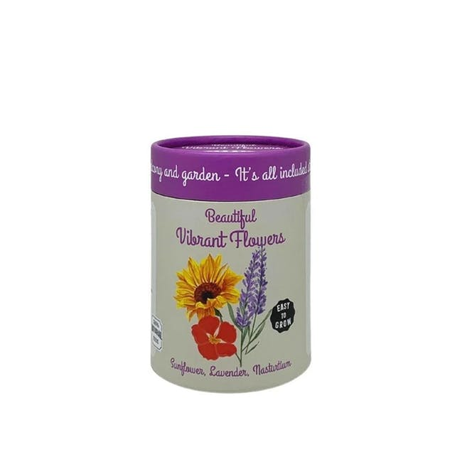Canister Collection: Flowers (Nasturium, Sunflower, Lavender) - 0