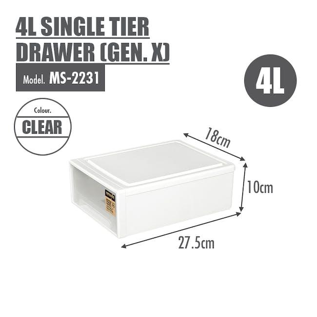 4L Single Tier Drawer (Gen.X) - 3