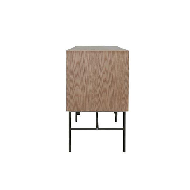Bacchus Sideboard 2m - Oak, White - 4