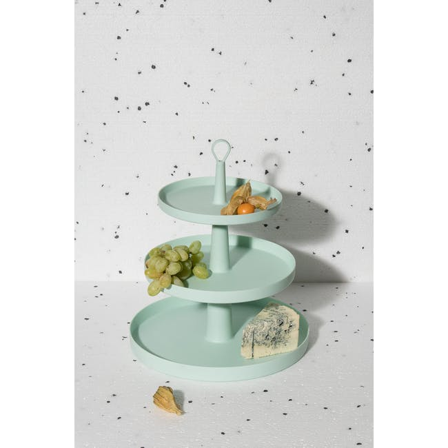 OMMO Tiers 3-Level Stand - Mint - 5