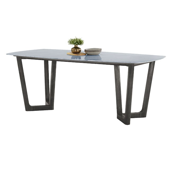 Carson Marble Dining Table 2m - 4