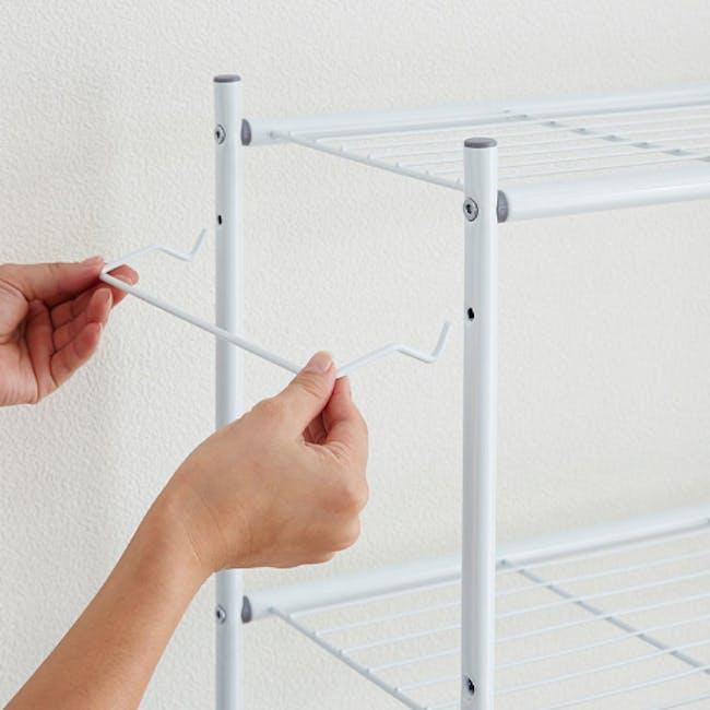 HEIAN Adjustable Washing Machine Rack - 1