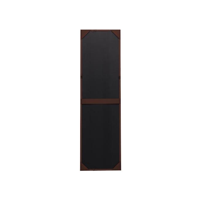 Nelson Full-Length Mirror 40 x 140 cm - Walnut - 3