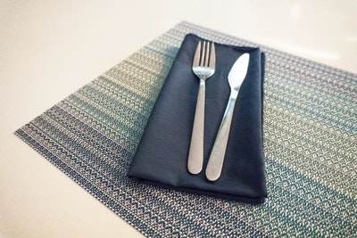 PVC Woven Placemat - Deep Ocean (Set of 4)