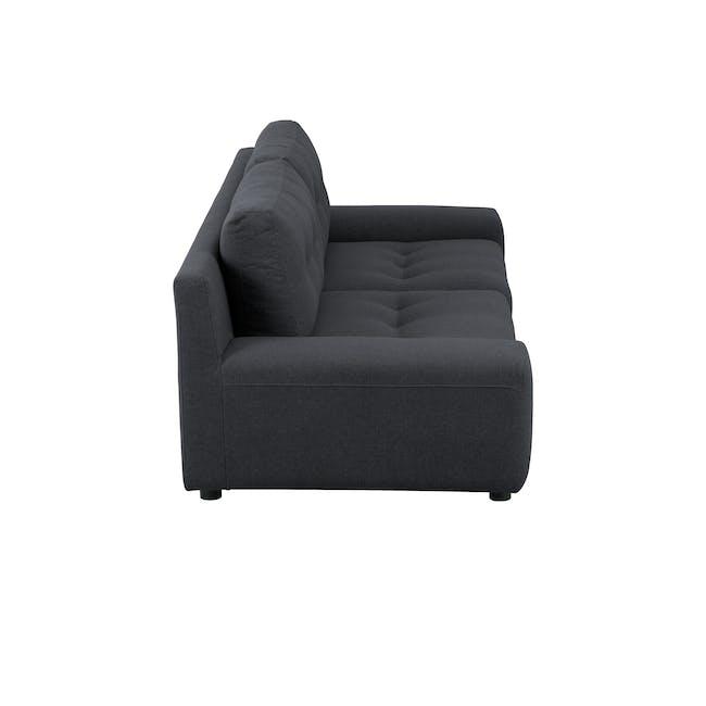 Wyatt 3 Seater Sofa - Carbon (Fabric) - 3