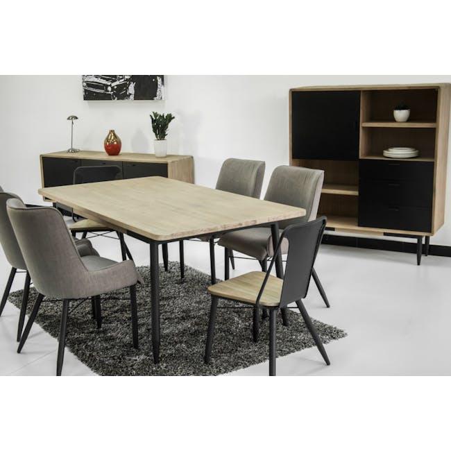 Starck Dining Table 1.6m - 1