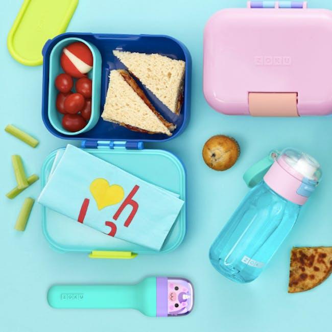 Zoku Kids Pocket Utensil Set - Teal - 4