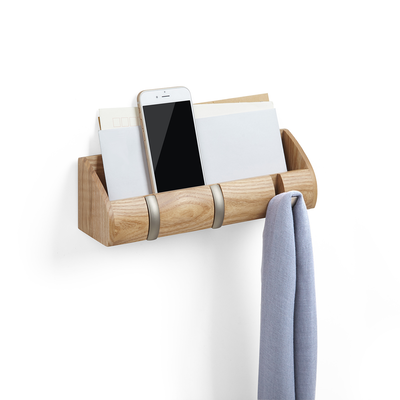 Cubby Mini Key Hook & Organiser - Natural - Image 1