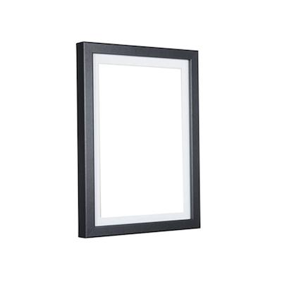 a2 size wooden frame black