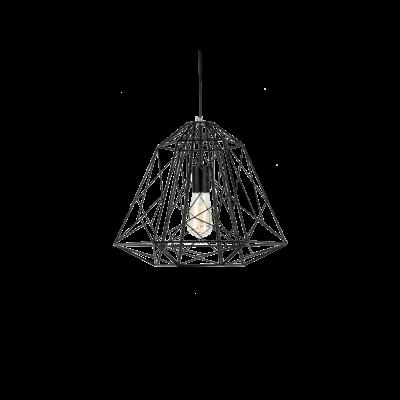 Lola Geometric Pendant Lamp - Black - Image 1