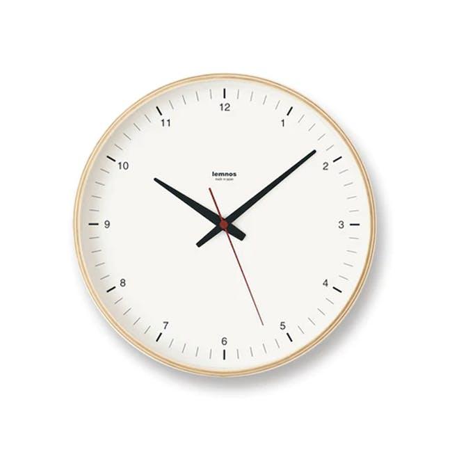 Plywood Clock - 0