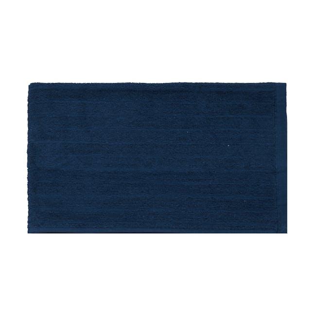 EVERYDAY Hand Towel - Navy Blue (Set of 2) - 1