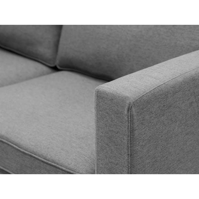 Berlin 2 Seater Sofa - Siberian Grey - 1